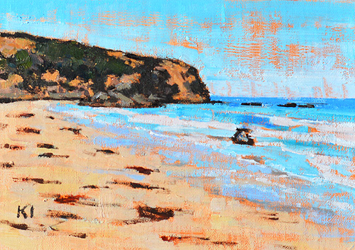 Dana Point Beach Painting