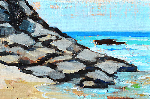 Dana Point Beach Painting