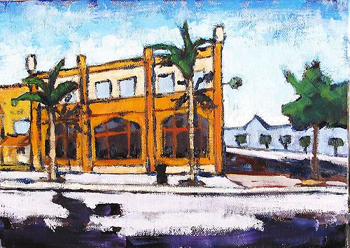 North Park San Diego Painting