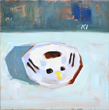 Cat Donut Painting