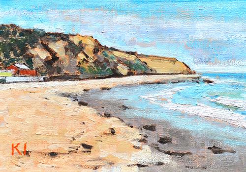 Crystal Cove Laguna Beach Painting