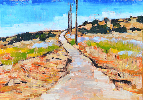 Laguna Canyon Painting