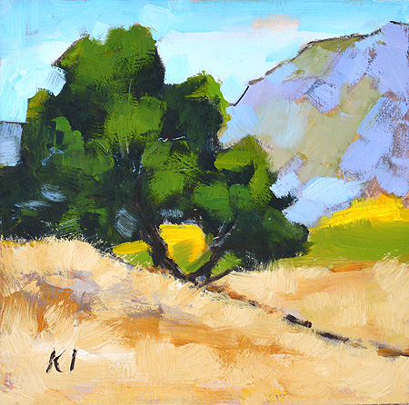 Mission Trails, San Diego Landscape Painting