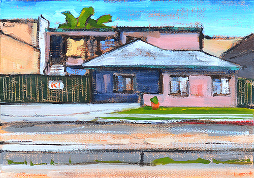 Point Loma San Diego Painting Urban