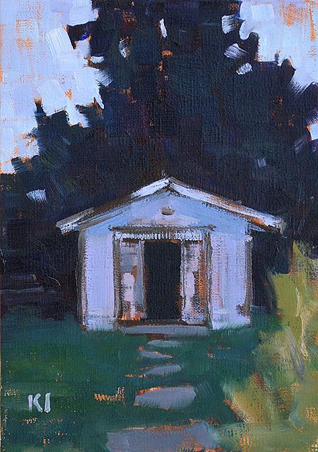 Virginia Farm Painting