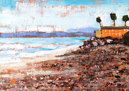 San Clemente Seascape Painting