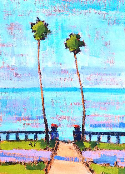 Santa Barbara Beach Painting