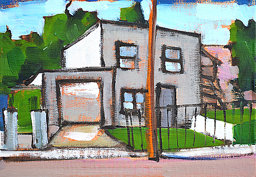 Sherman Heights San Diego Painting