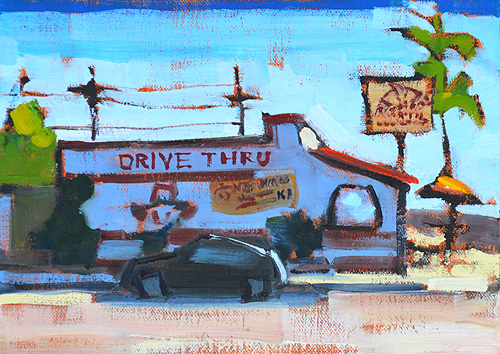 Taco Shop North Park San Diego Painting