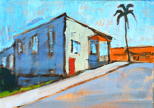 Hillcrest San Diego Landscape Painting
