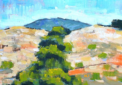Laguna Landscape Painting