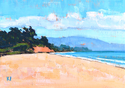East Beach Santa Barbara Painting