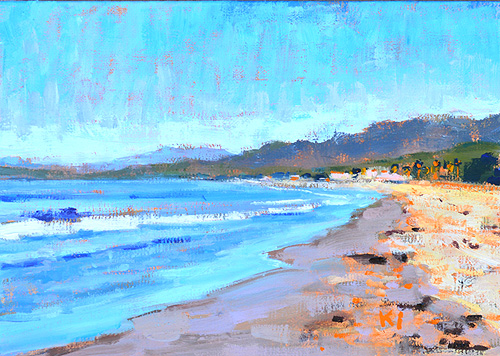 Carpinteria Beach Painting Santa Barbara