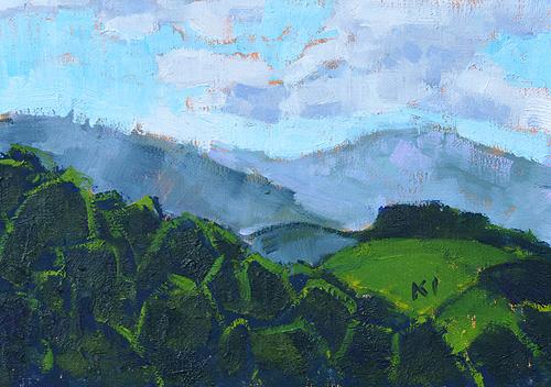 Santa Ynez Landscape Painting