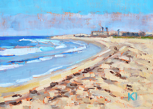 Imperial Beach Painting San Diego California