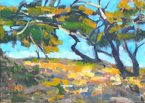 Torrey Pines Painting San Diego California La Jolla