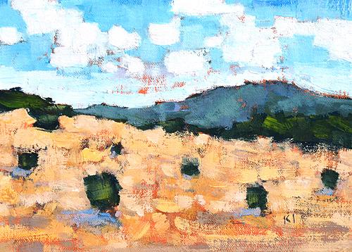 Laguna Beach Landscape Painting