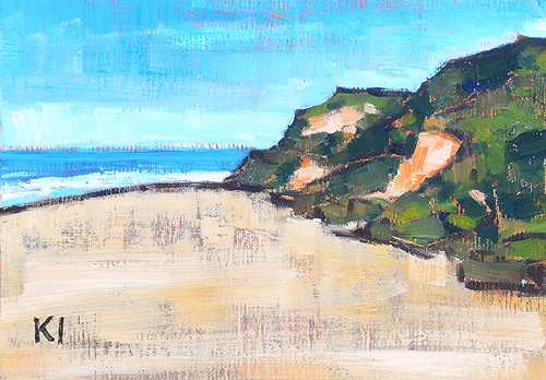 Del Mar Beach Painting