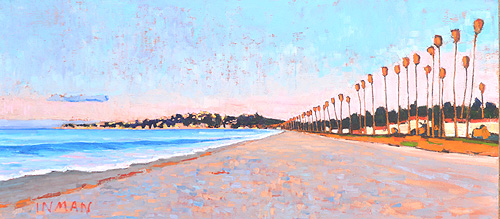 Santa Barbara Sunrise Painting