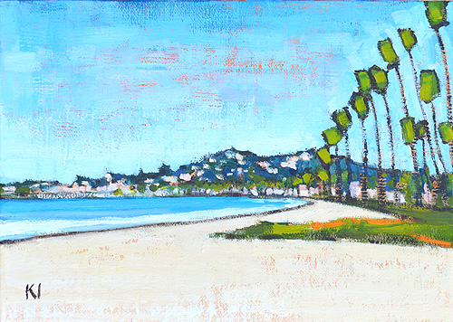 East Beach Santa Barbara Landscape Painting