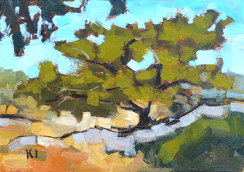 Torrey Pines Landscape Painting