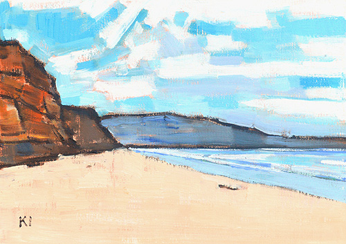 Blacks Beach San Diego Painting