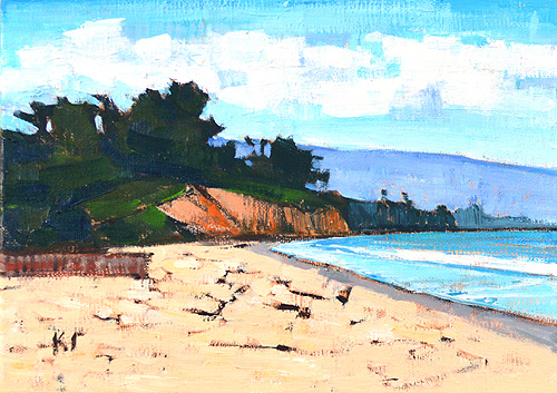 Santa Barbara East Beach Painting