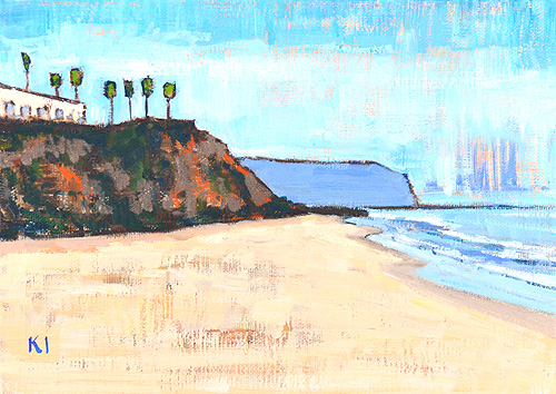 Monarch Beach Dana Point Painting