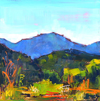 Temecula California Landscape Painting