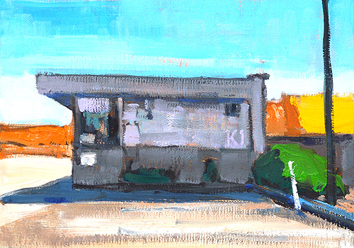 Gas Station Painting Point Loma San Diego