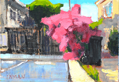 Hillcrest San Diego Bougainvillea Painting