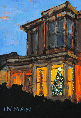 Christmas Lights Painting San Diego