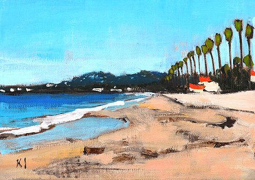 Santa Barbara Painting East Beach