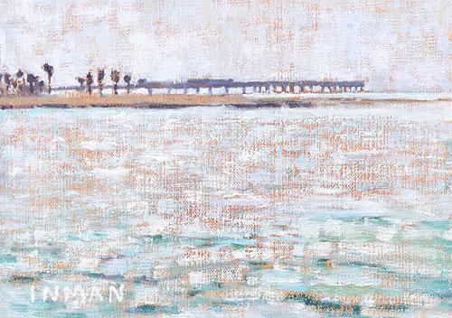 Ocean Beach Pier Painting San Diego