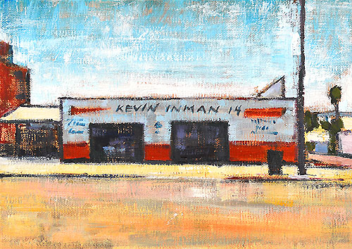 San Diego Industrial Landscape Painting