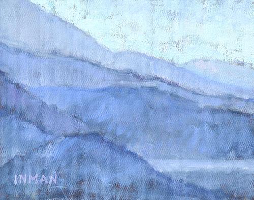 San Bernardino Mountains Landscape Painting