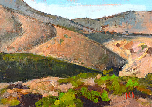 San Diego Landscape Painting Mission Trails