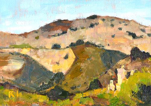 San Diego Landscape Painting Plein Air