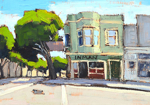 Russian Hill Painting San Francisco Swensen's
