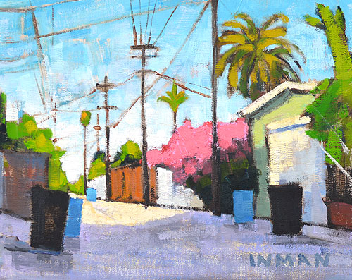 South Park San Diego Landscape Painting Urban