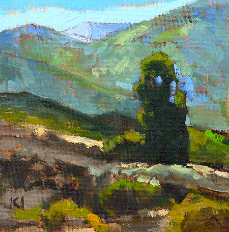 Temecula California Landscape Painting