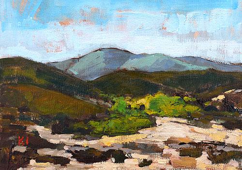 Temecula Landscape Painting