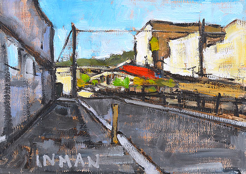 Little Italy San Diego Painting