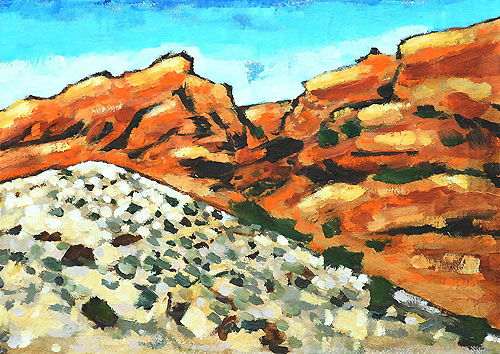 Red Rocks Las Vegas Nevada Painting