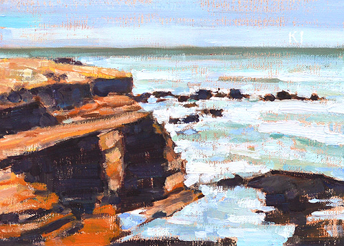Cabrillo Painting San Diego Plein Air