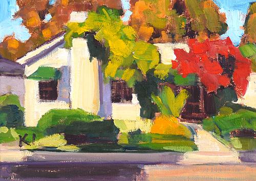 Hillcrest Painting San Diego Landscape