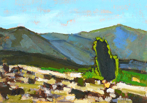 San Diego California Landscape Painting