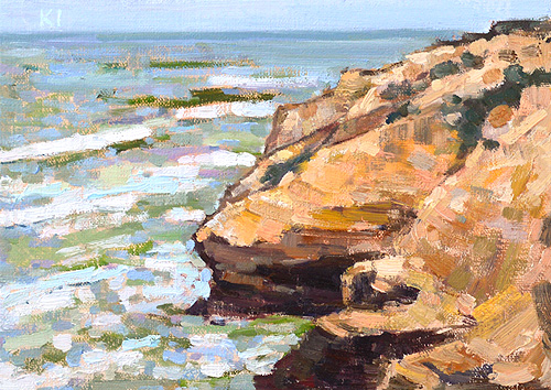 Cabrillo National Monument Painting San Diego Plein Air