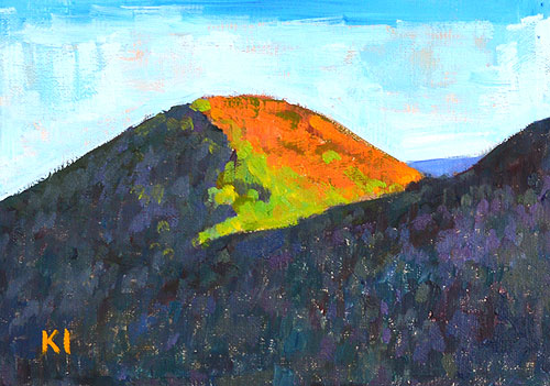 Santa Ynez Valley Painting Santa Barbara Landscape