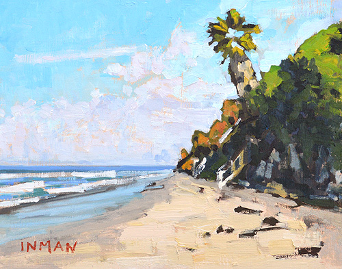 Grandview Beach Painting Encinitas California